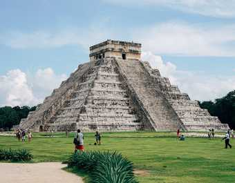 Site architectural de Chichen Itza, à Mexico