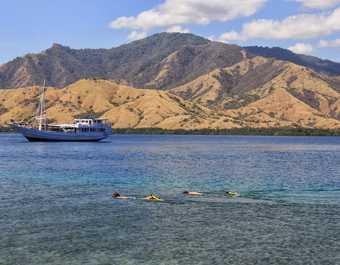 Snorkeling dans l'archipel de Komodo