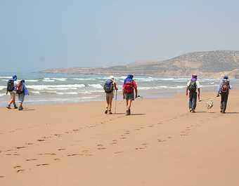 Trek côte atlantique, Maroc