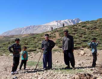 Trek dans le massif de Zagros