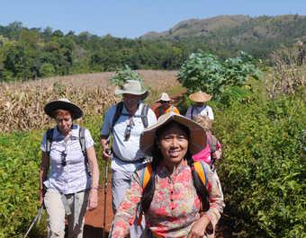 Trek en pays Shan avec notre guide Mya