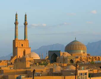 Ville de Yazd en Iran