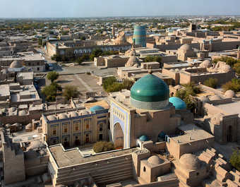 vue sur Khiva