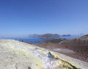 Vulcano îles éoliennes