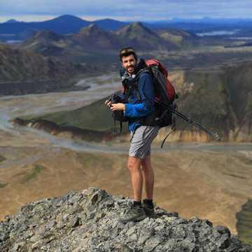 Clément Legain, guide arctique 66°Nord
