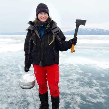 Elodie Roux, équipe 66°Nord