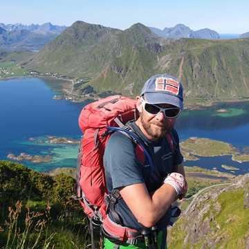 Gilles Desfaucheux, guide arctique 66°Nord