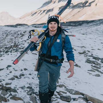 Ludovic Vivares, responsable des bases Norvège - Spitzberg