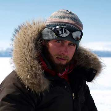 Matthias fargeas, guide arctique 66°Nord