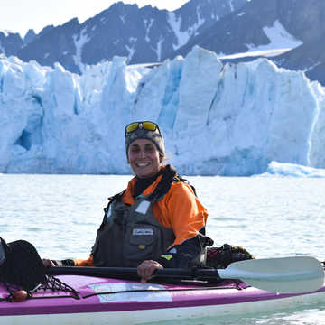 Maud Sevau guide arctique Svalbard