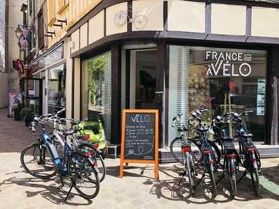 La boutique de FRANCE A VELO à Auxerre