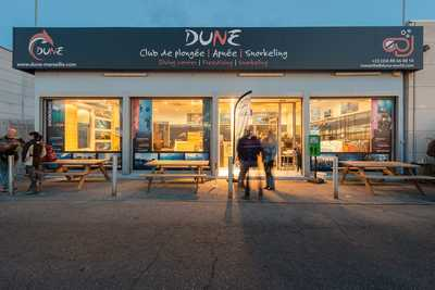 Fin de journée au centre de Dune Marseille