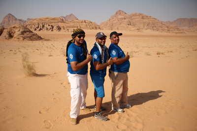 Notre équipe locale en Jordanie