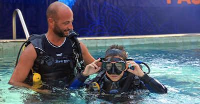 Première expérience plongée en piscine : le début d'une passion !
