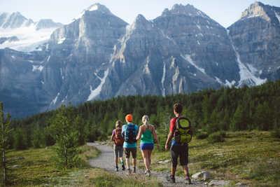 randonnée trek au Canada dans les Rocheuses