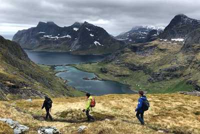voyage randonnée en Norvège, lofoten