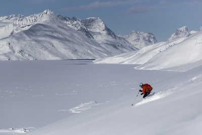 Voyage ski au Groenland