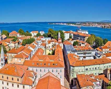 Croatie, vue sur Zadar