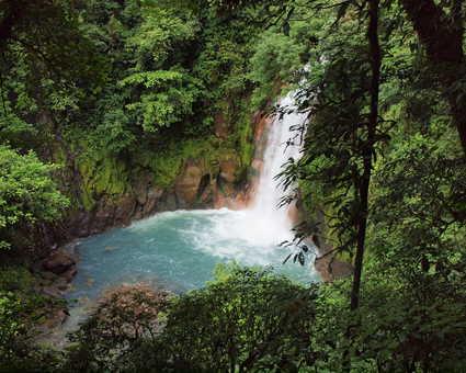 cascade du Rio Celeste