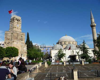 La mosquée Murat Pasha à Antalya en Turquie
