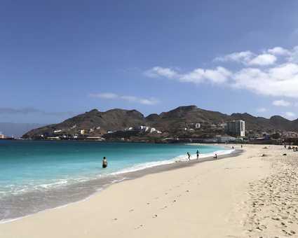 La plage de Mindelo