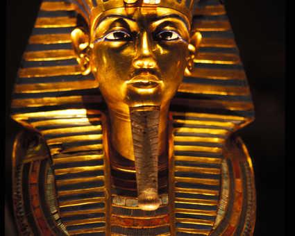Masque Toutankhamon musée du Caire