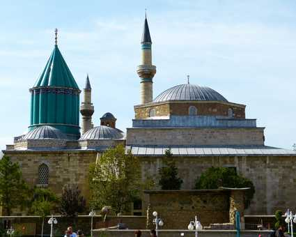 Monastère de Mevlana à Konya