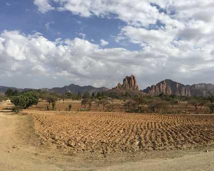 Paysages époustouflants dans le massif du Gheralta