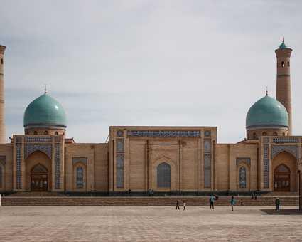 Tachkent, capitale de l'Ouzbékistan
