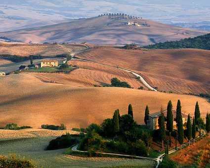 Val d'Orcia Toscane