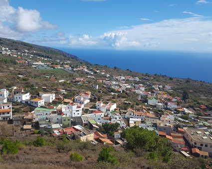 Village d'el Pinar sur l'île d'el Hierro