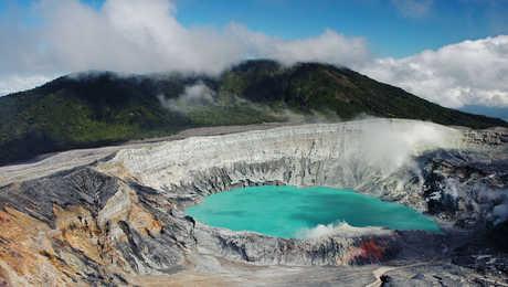 Cratère du Volcan Poas - Costa Rica