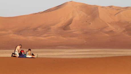 Dunes géantes du Rub Al Khali, Oman