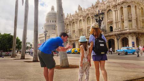 Explication du guide à La Havane en famille