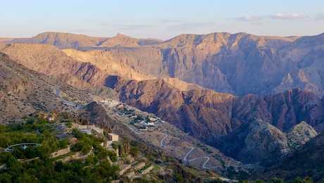 Jbel Akhdar, Oman