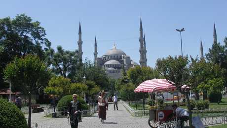 La basilique Sainte Sophie à Istanbul en Turquie