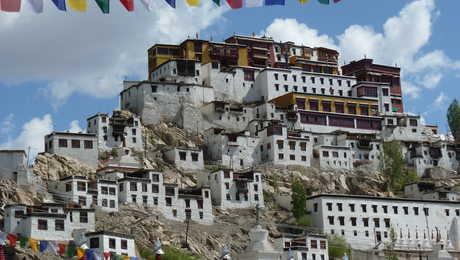 Le monastère de Thiksey, dans la vallée de l'Indus