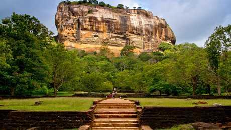 Le rocher du Lion à Sigiriya