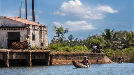 Les ambiances sur le Canal des Pangalanes
