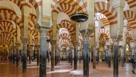 Mezquita de Cordoue en Andalousie