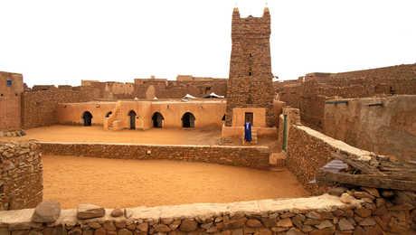 Minaret de Chinguetti, Mauritanie