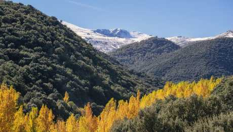 Paysages de la Sierra Nevada en Andalousie