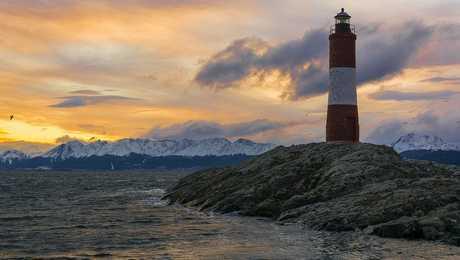 Phare Eclaireurs Canal Beagle Ushuaia Terre de Feu Patagonie Argentine