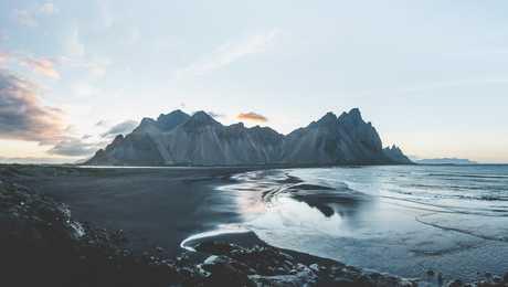 Stokksnes, fjords de l'Est, Islande