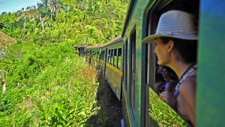 Train de la brousse à la jungle de Madagascar