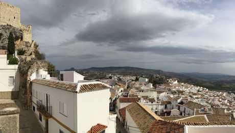 Village non loin de Cadiz