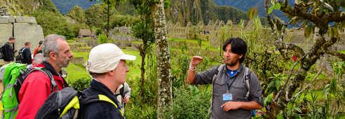 Explication du guide sur les sites incas