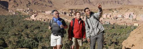 Lecture de paysage, Sud Maroc