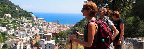 Randonnée à Amalfi