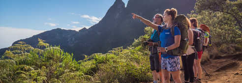 Randonnée à la Réunion